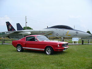 1965-1966 Mustang Shelby Style Side Scoops -  1 Pair - Made In The USA