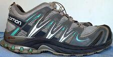 SALOMON Women's XA PRO 3D Ultra CS WP Grey-Blue Outdoor Shoe Size US 7