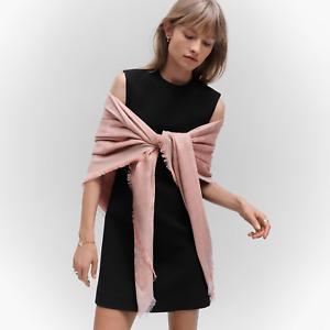 NWOT Louis Vuitton Monogram Shine LV Pink Scarf/Shawl