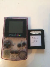 Nintendo Game Boy Color transparent lila + Top Spiele Tetris DX