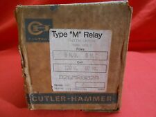 CUTLER-HAMMER D26MR802A TYPE M LATCH RELAY 600V 8NO - 0 NC 120V COIL - NEW