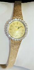 Omega Vintage Ladies 14K Gold Diamond Watch,Case!