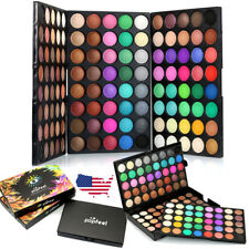 120 Colors Cosmetic Powder Eyeshadow Palette Makeup Set Matt Available US Stock