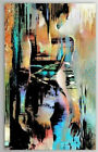 100% hand-painted abstract nude girl art oil painting home decor on canvas