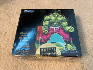 1992 Marvel Masterpieces Factory Sealed Box 36 Packs Joe Jusko Art