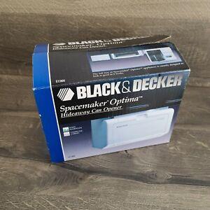 Black & Decker EC900 Spacemaker Under Cabinet Can Opener w/Sharpener VTG