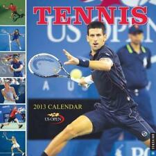 Tennis Wall 2013: The 2013 US Open Calendar, United States Tennis Association, N
