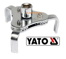Yato Tool Professional Oil Filter Wrench jaw Socket Key Opener YT-0826 63-120mm