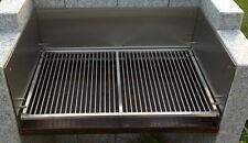 Bis 300 cm Edelstahl V2A Grillrost Grill Rost Maßanfertigung Maß Barbecue BBQ