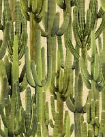 Saguaro Cactus Cacti C6807 Sand Timeless Treasures Durable Cotton Fabric