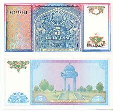 Usbekistan / Uzbekistan - 5 Sum 1994 UNC - Pick 75