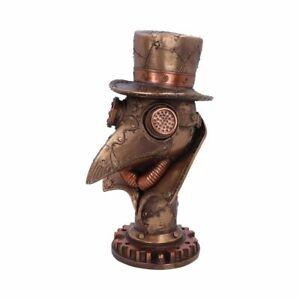"""BEAKY"" Resin Steampunk Bronze Coloured Ornamental Figurine 23cms"