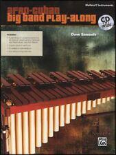 Afro-Cuban Big Band Play-Along Mallets/C Instruments Music Book/CD Marimba Vibes