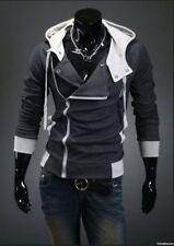 Men's Assassin's Creed Style Hoodie (Dark Grey/Gray)