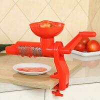 Removable Portable Hand Tomato Juicer Fruit Juice Maker Extractor Squeezer Camp