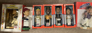 Opening bid reduced!  Lot Of 7 Minor League Baseball Bobble Heads