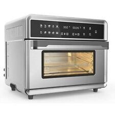 modernhome 30Qt Touchscreen Air Fryer Toaster Oven with 3 Cooking Levels, Dehydr