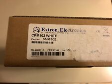 Extron, 60-583-22, Cpm102 White, Two-Gang Maap Mounting Frame.
