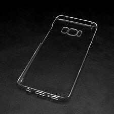Samsung Galaxy S8 Minimalistic Hard Transparent PC Case Clear FREE SHIPPING