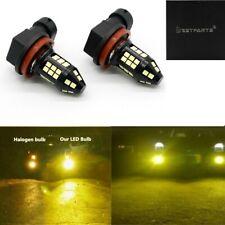 2x 75W H11 H8 H9 3000K Yellow High Power 3030- LED Fog Lights Driving Bulb DRL
