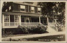Kennebunkport ME The Arundel c1920 Real Photo Postcard #1
