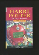 Harri Potter a Maen yr Athronydd ( SIGNED -1st Welsh Ed. Philosopher's Stone )
