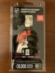 Battle Chicago Blackhawks Signature Series Youth Size Mouthguard Pack of 2