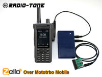 Radio Over Zello Controller + RT4 Android Smart Phone For Mototrbo as RT-RoIP2