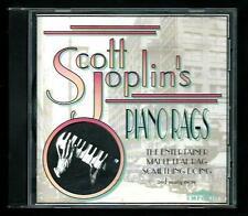 Scott Joplin's : Piano Rags - CD del 1994 - Come nuovo