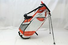 New Callaway Golf Hyper-Lite 3 Hl3 Stand Carry bag - White Orange Titanium