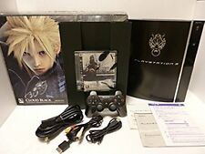 PS3 PlayStation 3 Console FF Advent Children *GREAT BOX  GREAT COND* $20 OFF