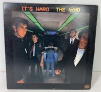 It's Hard The Who 1982 LP Vinyl Record