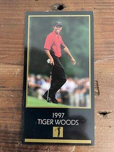 1997 grand slam ventures tiger woods gold foil