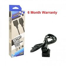 6 Feet Controller extension cable for the Sega Genesis system  (Retro-Bit) New