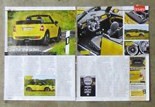 MINI COOPER S CONVERTIBLE Sport 2009 Auto Magazine Review Car Test Drive Article