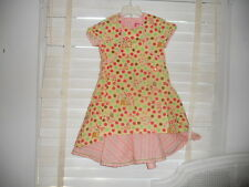 NWOT Oilily Archives ~ Art to Wear ~ Carousel Polka Dot & Stripe Dress 140