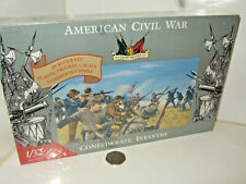 Sealed Imex 3203 ACW 20 Confederate Infantry Plastic Figures in 1:32 Scale
