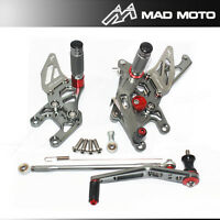 Full Adjustable Rearset Rear Sets Foot Pegs For HONDA CBR 1000RR 2012 2013 2014