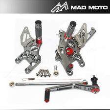 Full Adjustable Rearset Rear Sets Foot Pegs HONDA CBR 1000RR 2011 2012 2013 2014