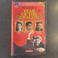 Year of the Dragon VHS RARE video Mickey Rourke