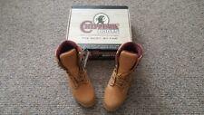 "Chippewa mens 8"" Tan Nubuck leather insulated waterproof hunting boots 9W 24951"