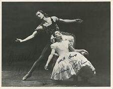 """Rudolph NUREYEV (Ballet): Signed Photo in """"Le Spectre de la Rose"""""""