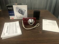 Sony Cyber-Shot DSC-W650 16.1 MP 5x Optical Zoom Digital Camera,- Red