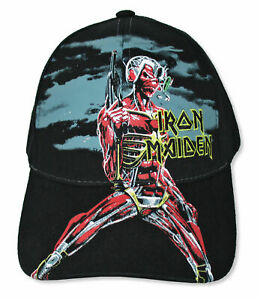 Iron Maiden Somewhere In Time Black Cap NEW