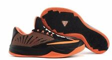NIB MENS NIKE ZOOM RUN THE ONE HARDEN BLACK ORANGE BASKETBALL SHOES Sz 10