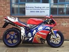 Ducati 998 Ben Bostrom Replica with super low mileage in perfect condition!