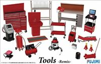 Fujimi Garage & Tools Series #28 1/24 scale Tool Remix Set Plastic Model Kit