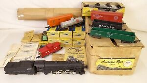 AMERICAN FLYER MOUNTAINEER SET 5323T W/282 LOCO-TENDER & FREIGHTS-EX+W/OBS!