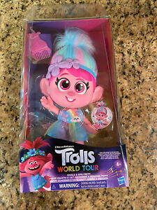 Trolls Dreamworks Poppy Doll Giggle and Sing COLLECTORS DISCONTINUED new