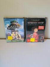 Studio Ghibli - Spirited Away & Castle in the Sky Dvd Video 2-disc set - New